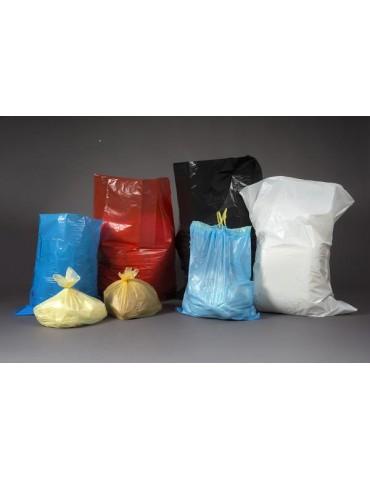 Bolsa basura 55x60 azul c/450