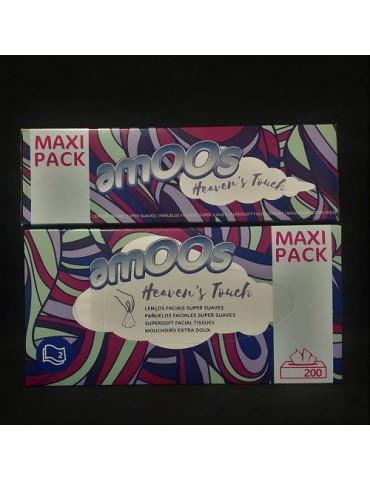 Pañuelos faciales Maxi Pack.200un.Cja 25